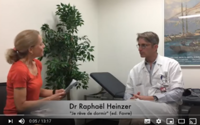 15 min chat with a sleep expert – Doctor Raphael Heinzer.