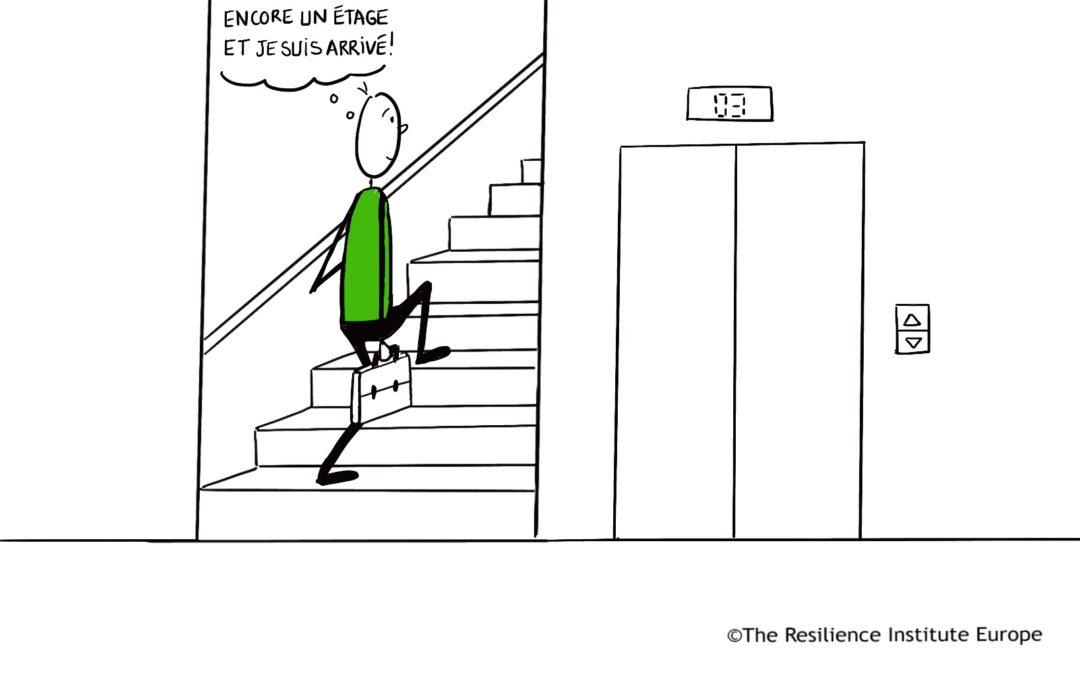 Combien de volées d'escaliers allez-vous grimper aujourd'hui ?