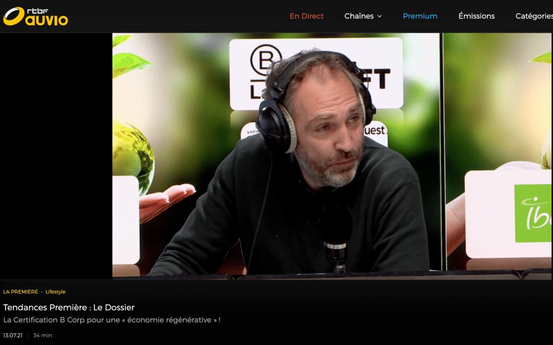 Interview RTBF | Tendances Première | Juillet 2021